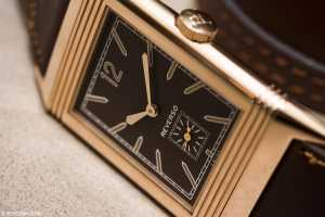 grande reverso ultra thin 1931 chocolate dial