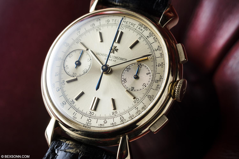 A 1940s Vacheron Constantin Chronograph Reference 4178; An ...