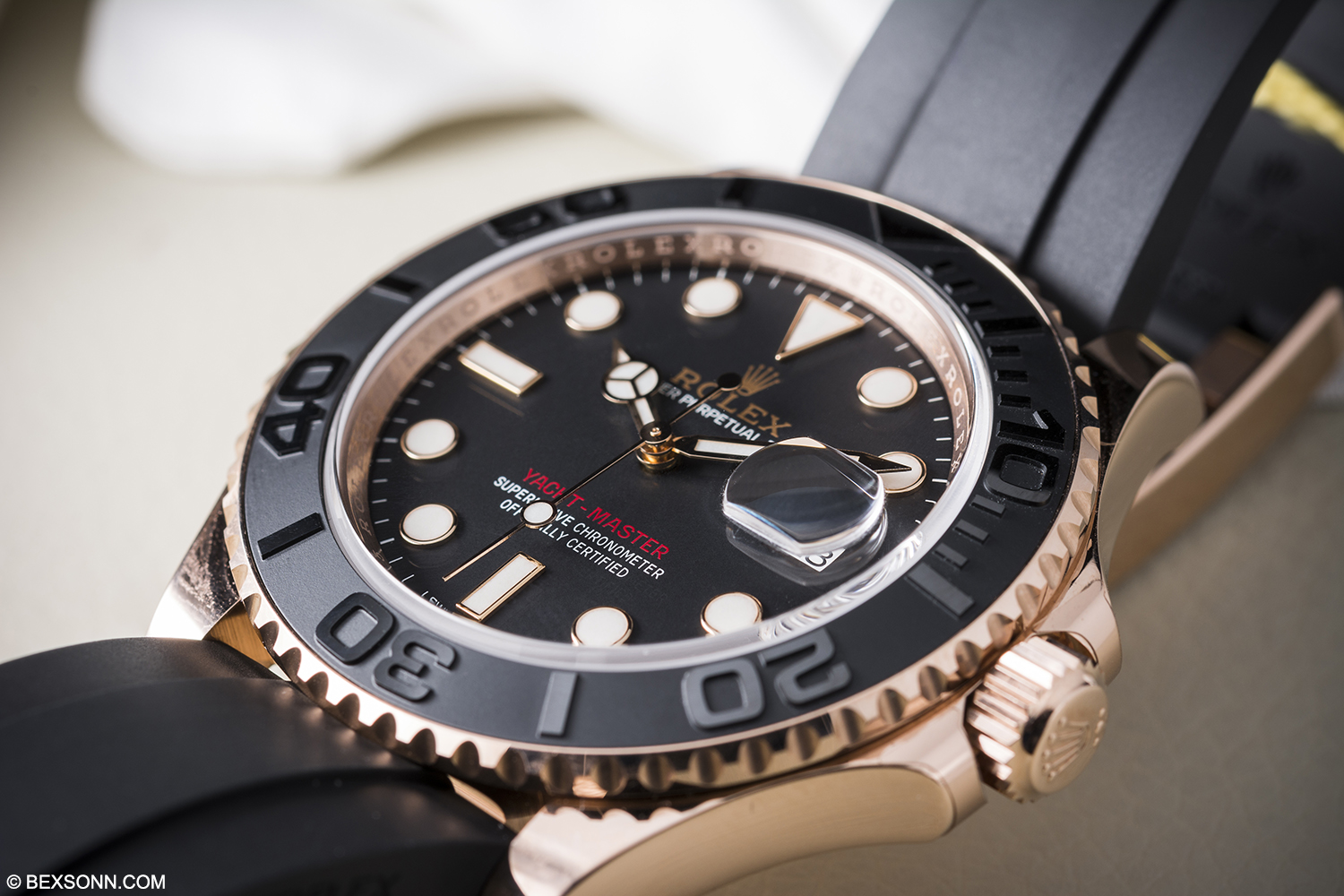Rolex Yachtmaster Rose Gold 40mm