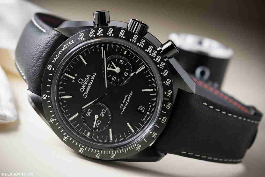 omega speedmaster dark side of the moon collection